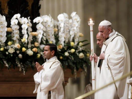 Vatican Pope Easter