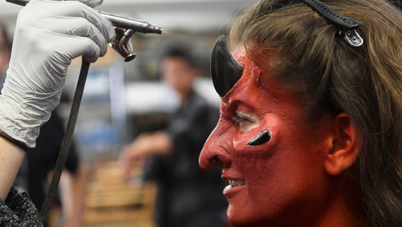 Special effects makeup artist Miranda Jory turns USA