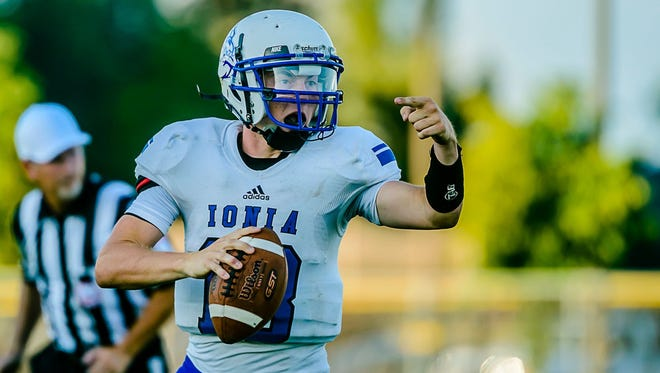 Senior quarterback John Meyer played a key part in Ionia overcoming 32-point deficit in a 41-40 win over McBain on Friday. Their comeback was the largest in state history.
