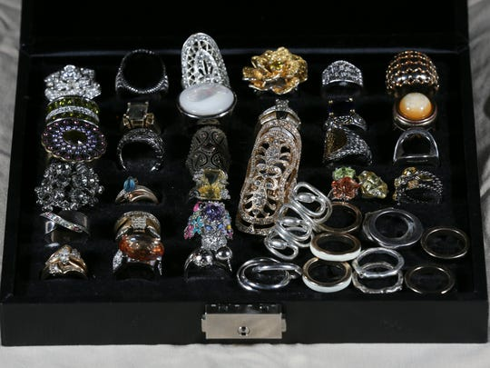 Stylemaker Shervita West has an assortment of rings as one of her favorite things. May 16, 2016