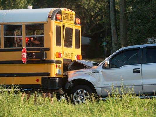 Truck Vs School Bus