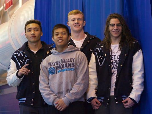 Wayne Valley boys swimming