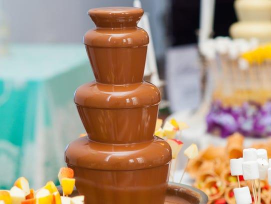 Will anyone complain if a chocolate fondue fountain