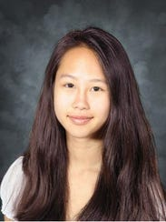 Vivian Huang, a senior at South Burlington High School,