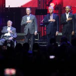 All 5 living ex-presidents gather for hurricane relief concert at Texas A&M
