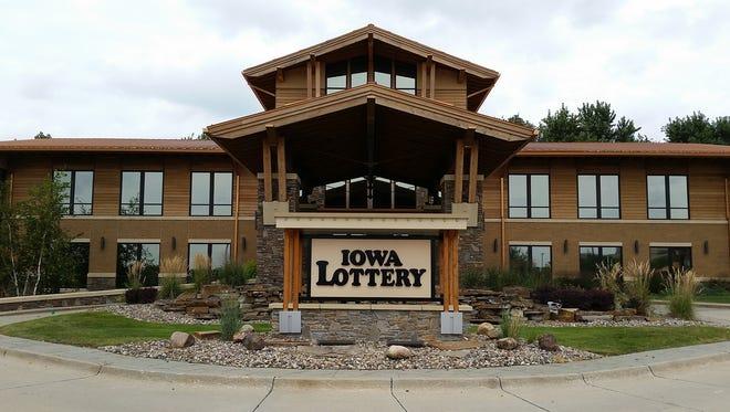 Iowa Lottery headquarters in Clive