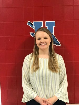 Emily Davis, a senior at Union County High School has been awarded the University of Louisville Grawemeyer Scholarship.