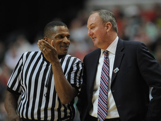 Big Ten referee Ted Valentine has often been called