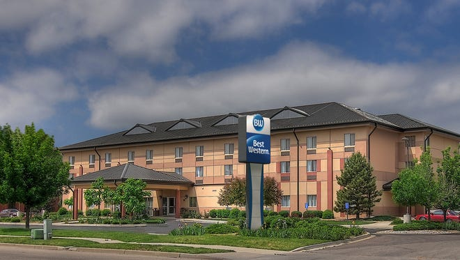 Best Western hotels will have new logos. Here is a rendering of one.