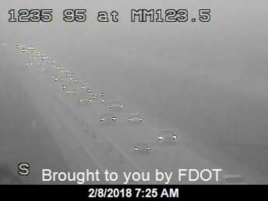 A view of Interstate 95 in ST. Lucie County Feb. 8,