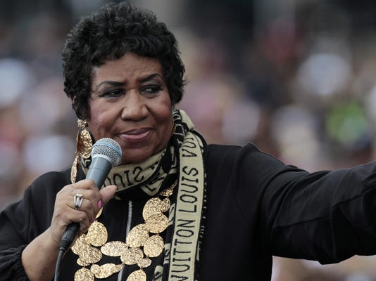 EPA (FILE) USA MUSIC ARETHA FRANKLIN OBIT HUM PEOPLE USA MI