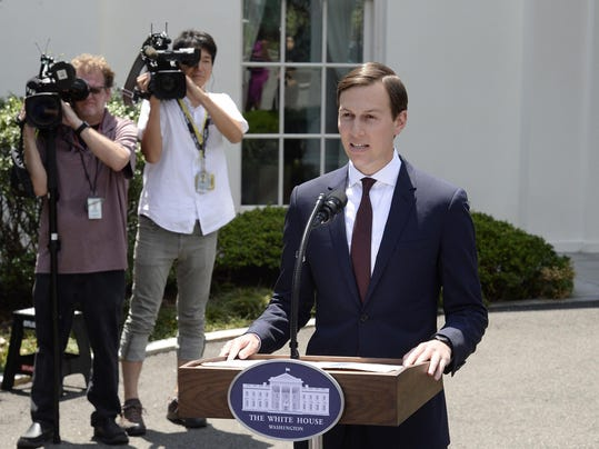 Jared Kushner fined for late financial report