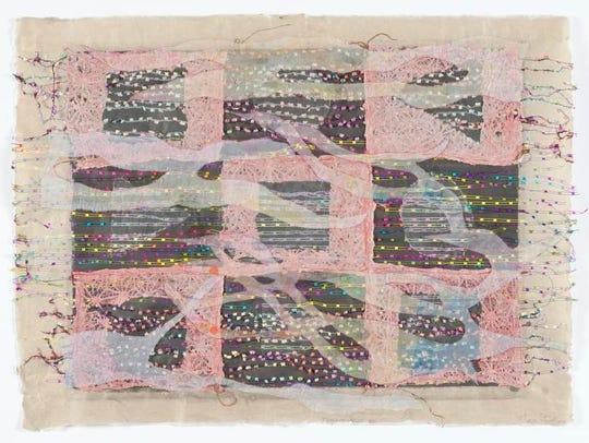 """Marie Sturken, """"Transparencies III,"""" handmade paper"""