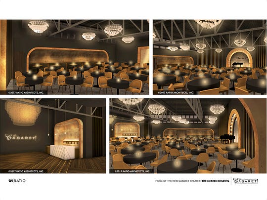 The new location for The Cabaret will seat 172 patrons