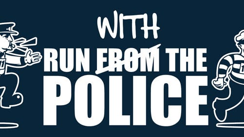Run With the Police logo