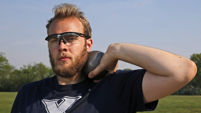 Matt Stainbrook isn't done with his college athletics career yet, not by a long shot (put) (or discus).
