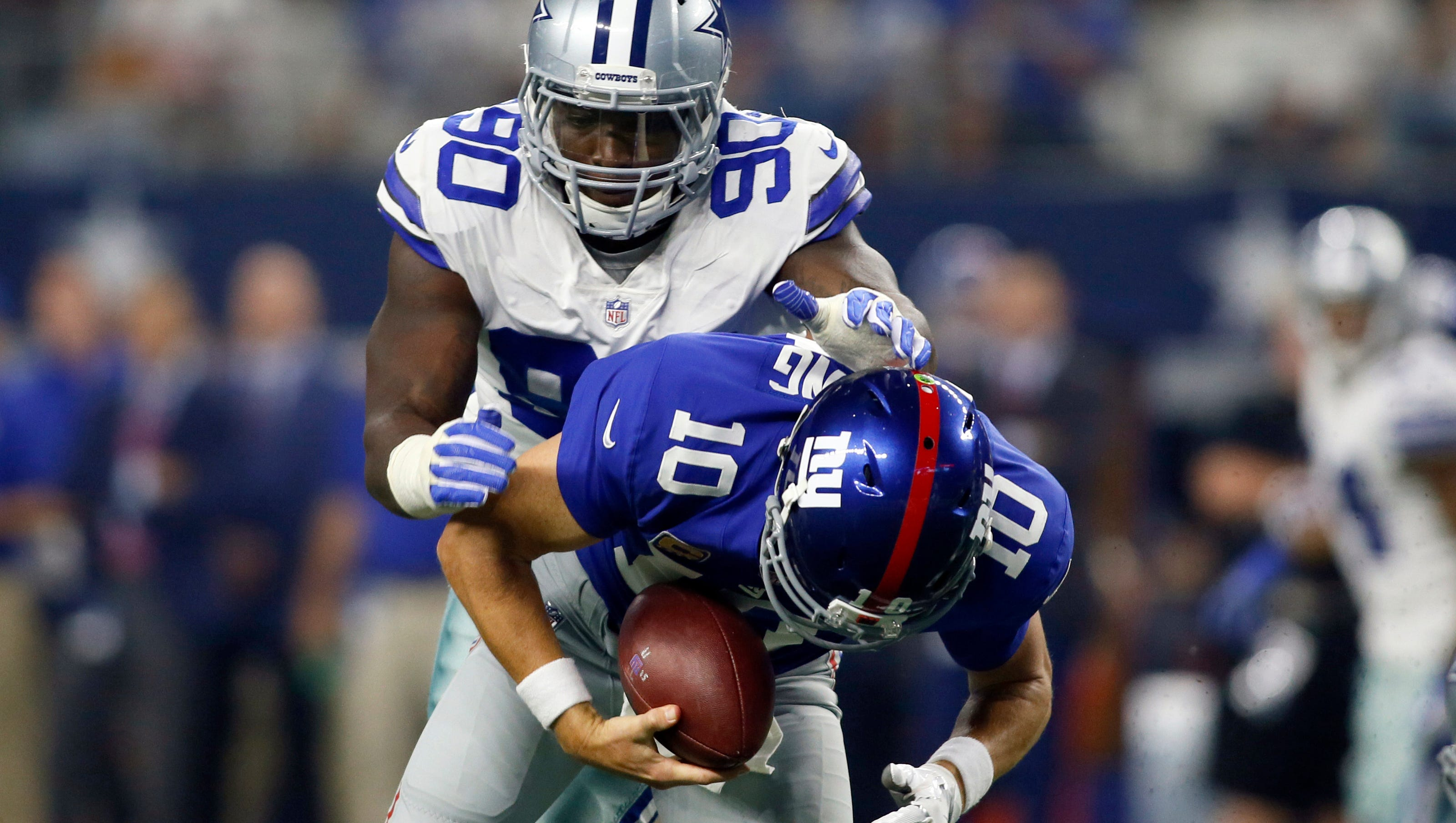 New York Giants Block Out Trash Talk From Cowboys Demarcus
