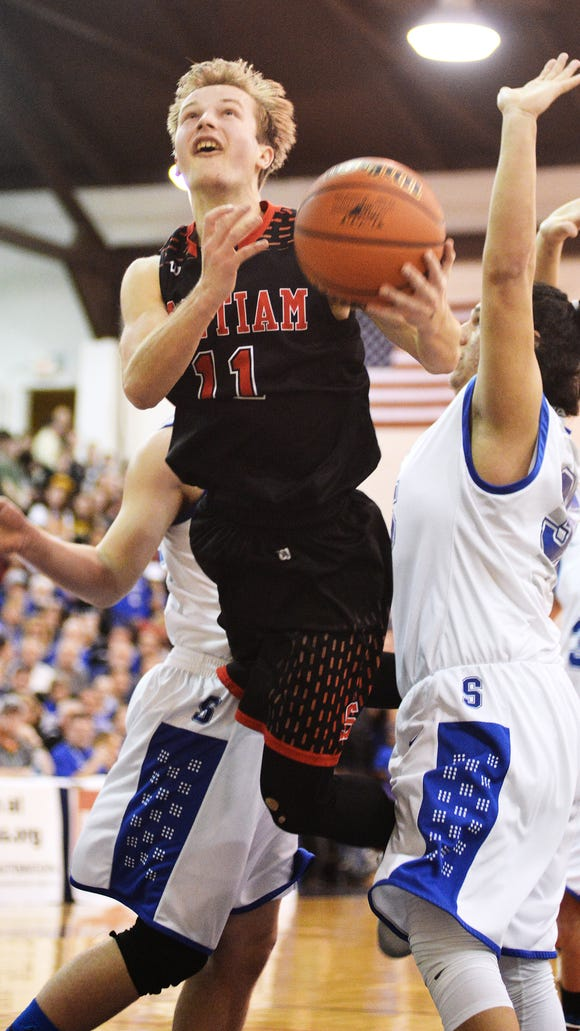 Santiam's Julian Downey was named athlete of the week on March 9.
