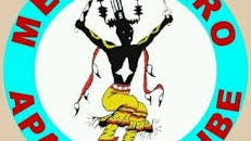 The logo of the Mescalero Apache Tribe features one of the mountain gods.