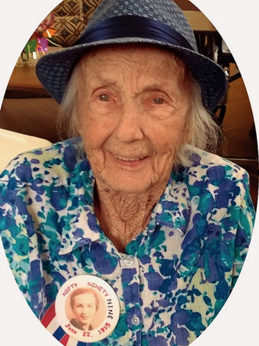 Ruth Berg, a longtime Alamogordo resident and community volunteer will be celebrating her upcoming 100th birthday on June 22.