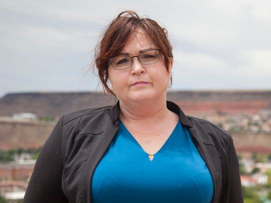 Victoria Willard, a former DSU student, is taking legal