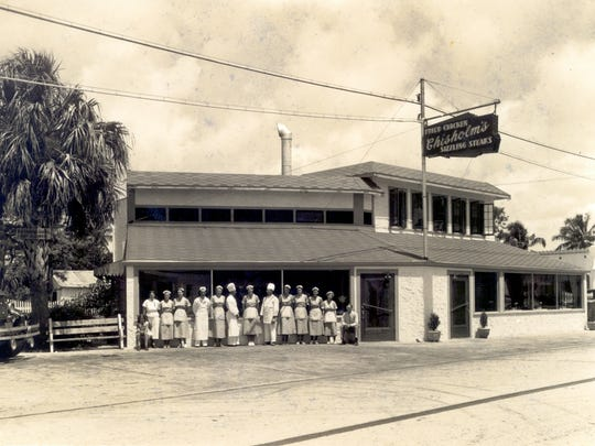 Chisholm's Restaurant on U. S. 1 in the 1930s with