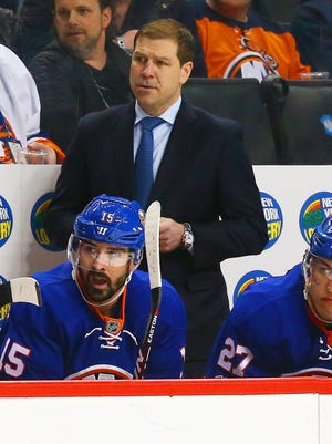 Doug Weight had been considered the New York Islanders' interim head coach for 40 games this season.