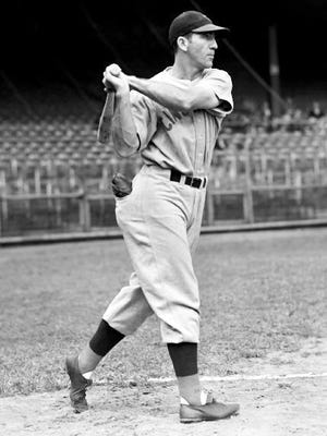 The Reds' Ival Goodman in 1940.