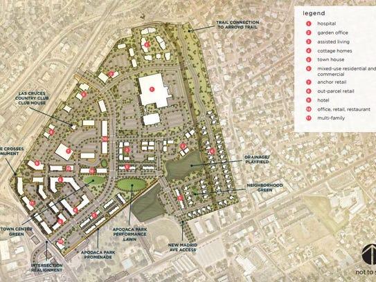 The Apodaca Blueprint presents this conceptual plan