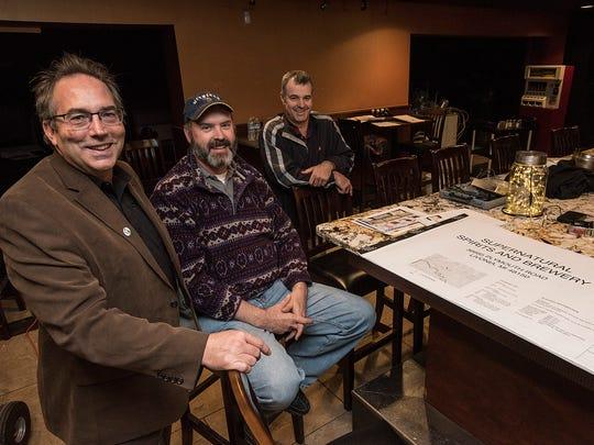 Ernie Pacsai, Dan Gee and Chris Hibner met through