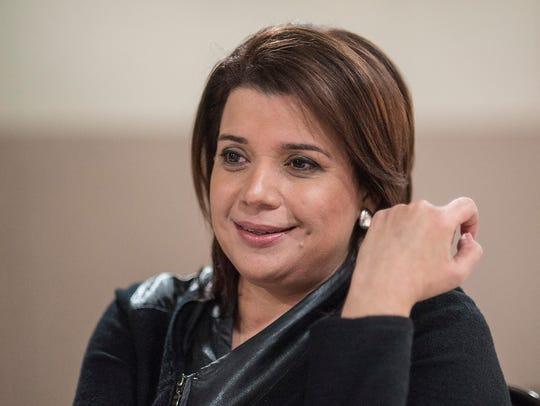 CNN analyst Ana Navarro.