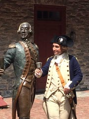 An actor playing the Marquis de Lafayette will make