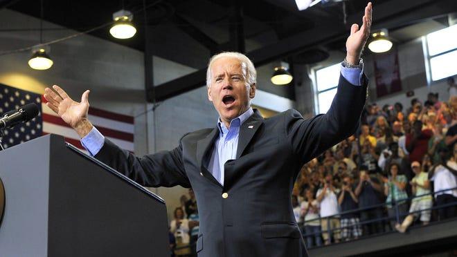 U.S. Vice President Joe Biden is still mum on a potential decision to run for president.
