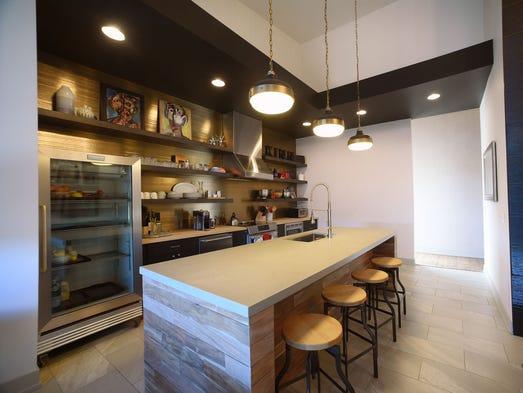 The new Kinn Guesthouse, in Milwaukee's Bay View neighborhood,