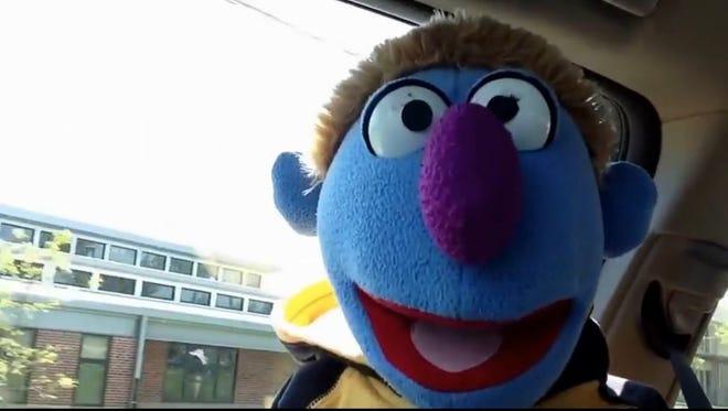 Chuck the puppet.