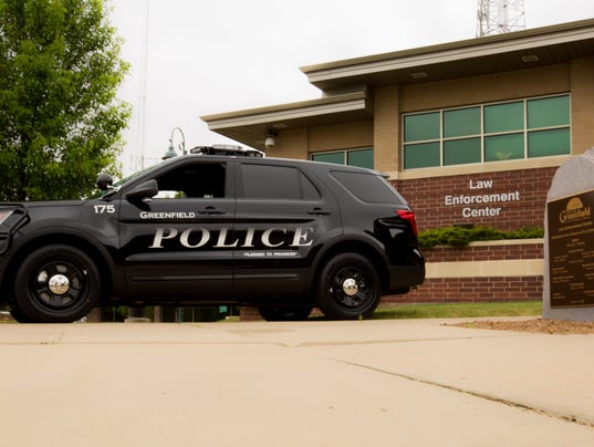 Greenfield Police Department vehicle