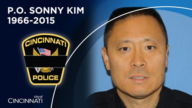 Cincinnati Police Officer Sonny Kim, 48, killed in the line of duty Friday in Madisonville. He was with the police force 27 years.