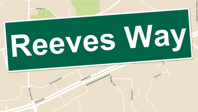 Reeves Way photo illustration.