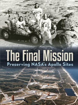 """NMSU professor emerita Beth O'Leary, Lisa Westwood and Milford Wayne Donaldson, co-authors of """"The Final Mission: Preserving NASA's Apollo Sites,"""" will participate in a panel discussion moderated by NMSU History professor Jon Hunner from 5-7 p.m. on Monday, April 10th at NMSU's Kent Hall."""