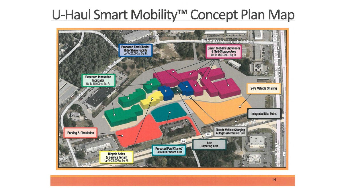U Haul To Build Its First Smart Mobility Center In Tallahassee