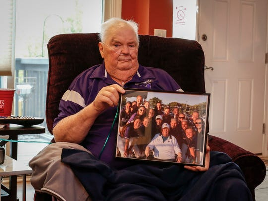 Gordy Emmons spent years as the Waukee softball team's