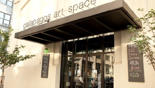 Now closed, the Galapagos artists colony site in New York is being relocated to the Detroit area.