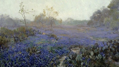 """The Art Museum of South Texas' exhibit """"Julian Onderdonk and the Texan Landscape"""" closes Aug. 31."""