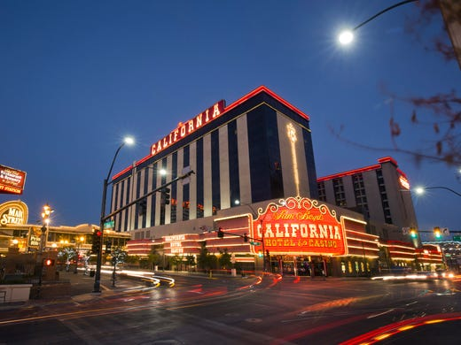 Tour The California Hotel Casino In Downtown Las Vegas