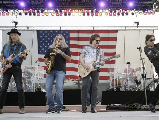 The Doobie Brothers provided the entertainment for Red White and Blue Ash in 2015.