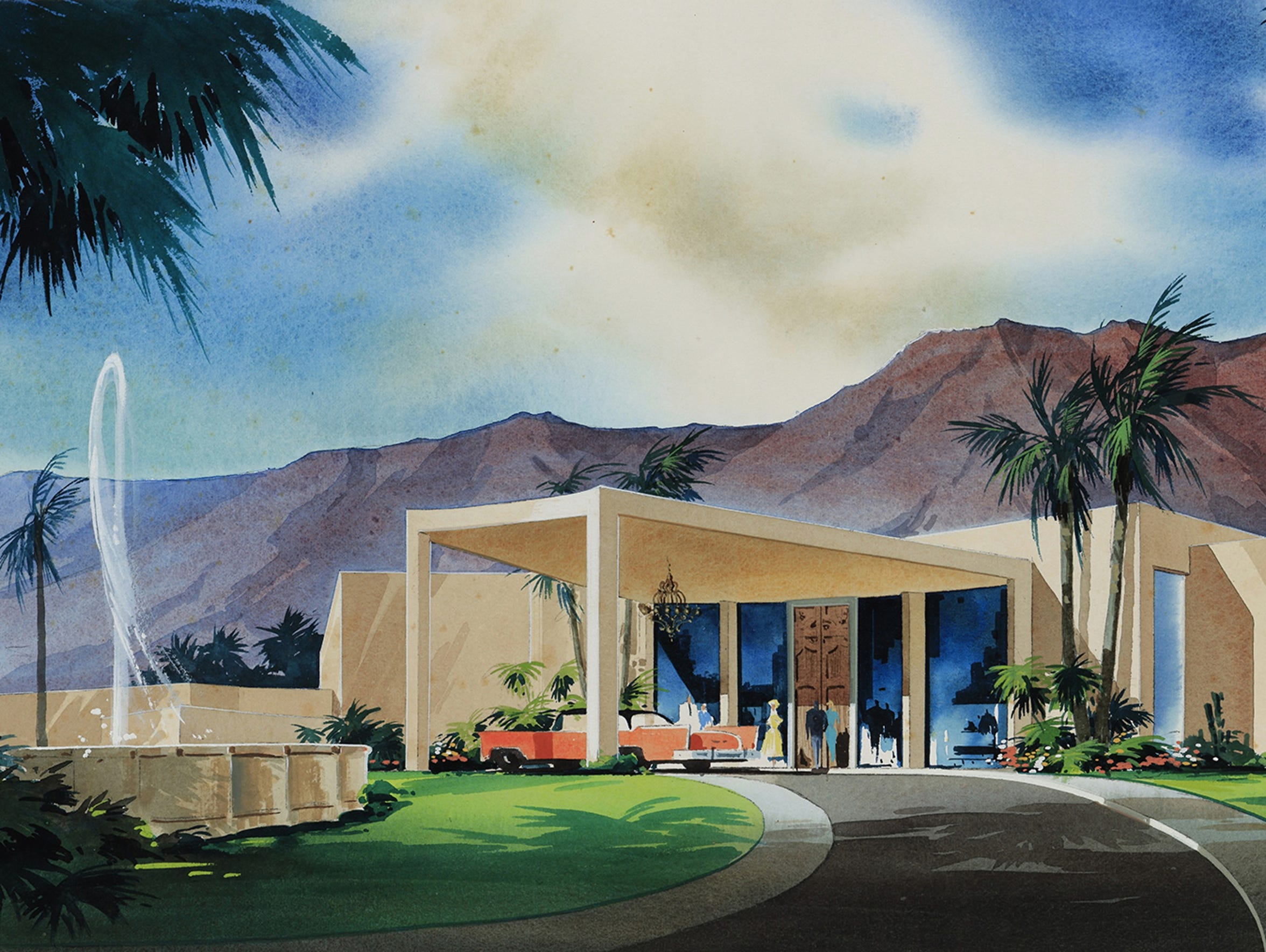 Rendering of the Marrakesh Clubhouse.