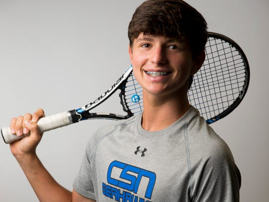 Community School of Naples tennis player Sebastian