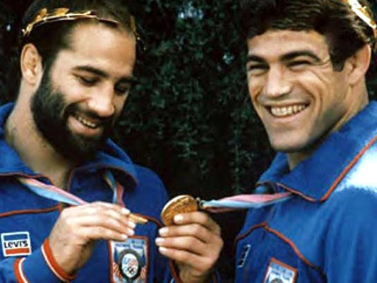 Schultz brothers gold medals