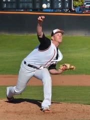 Ventura College pitcher Austin Rubick, a Buena High