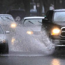 Rain showers are expected to hit the Metro Detroit area this evening.